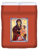 Our Lady Of The Snows  Duvet Cover