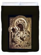 Our Lady Of Yevsemanisk Duvet Cover