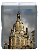 Our Lady's Church Of Dresden Duvet Cover by Christine Till