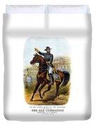 Our Old Commander - General Grant Duvet Cover