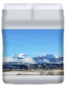 Ouray And Chipeta Duvet Cover