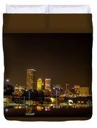 Tulsa - Our World Duvet Cover