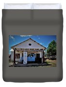 Out Of Service New Mexico Gas Station Duvet Cover