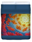 Out Of The Blue Duvet Cover