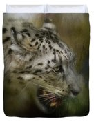 Out Of The Brush Duvet Cover