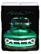 Out Of The Shadows - 51 F100 Ford  Duvet Cover
