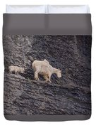 Out On A Ledge Duvet Cover