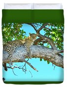 Out On A Limb Duvet Cover
