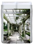 Out To The Garden Duvet Cover