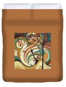 Out West II By Madart Duvet Cover