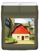 Outbuilding. Germany Duvet Cover