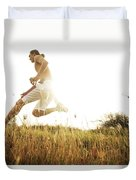 Outdoor Jogging II Duvet Cover