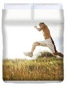 Outdoor Jogging IIi Duvet Cover