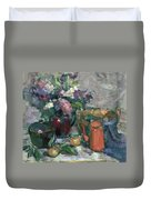 Outdoor Lilacs Duvet Cover