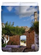 Outdoor View Duvet Cover