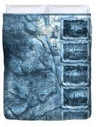 Outer Banks Lightouse Map 2 Duvet Cover