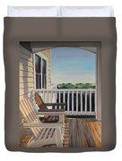 Outer Banks Morning Sun Duvet Cover