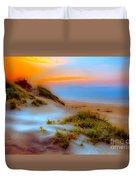 Outer Banks Soft Dune Sunrise Fx2 Duvet Cover