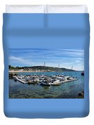Outer Harbour - Lyme Regis Duvet Cover
