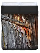 Outhouse Holzworth Historic Site Duvet Cover