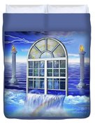 Outpouring Duvet Cover