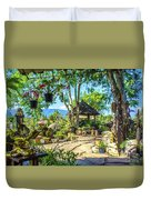 Outside Chiang Dao Coffee Shop  Duvet Cover