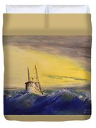 Outside The Jetty Duvet Cover