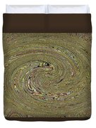 Oval Abstract Panel 6150-5 Duvet Cover