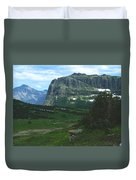 Over Logan's Pass Duvet Cover