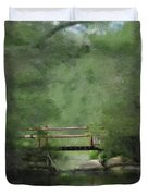 Over Still Waters Duvet Cover