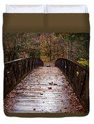 Over The Bridge Duvet Cover