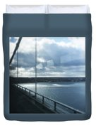 Over The Bridge Duvet Cover