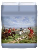 Over The Fence Duvet Cover
