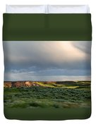 Over The Land Duvet Cover
