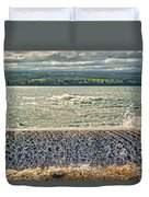 Over The Wall Duvet Cover