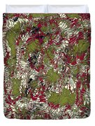Overactive Christmas Celebration - V1lsf100 Duvet Cover