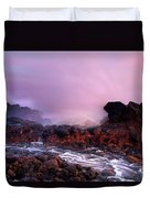 Overcome By The Tides Duvet Cover