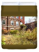 Overgrown Fall Garden Duvet Cover