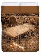 Overgrown Graves Duvet Cover