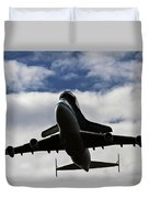 Overhead Discovery Duvet Cover