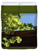 Overhead Grape Harvest - Summertime Dreaming Of Fine Wines Duvet Cover