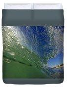 Overhead Wave Duvet Cover