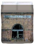 Overholt Distillery Duvet Cover