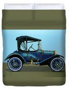 Overland 1911 Painting Duvet Cover