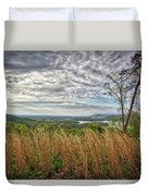 Overlook At Talking Rock Creek Duvet Cover