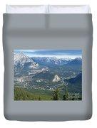 Overlook Banff Vista Duvet Cover