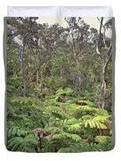 Overlooking The Rainforest Duvet Cover