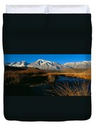 Owens River Valley Bishop Ca Duvet Cover