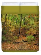 Owl Canyon In Autumn 2 Duvet Cover