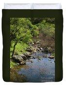 Owl Creek Duvet Cover